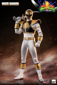 Gallery Image of White Ranger Sixth Scale Figure