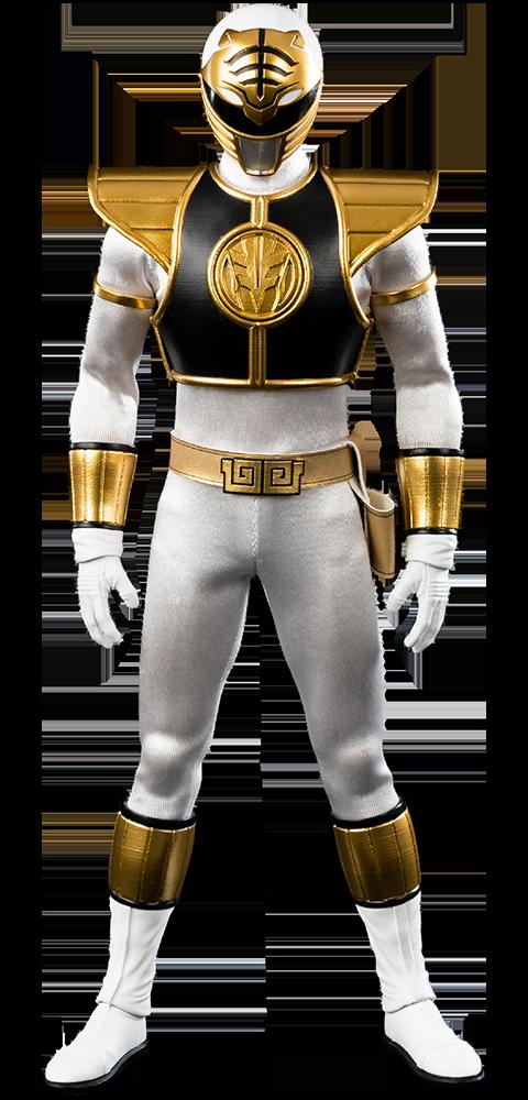Threezero White Ranger Sixth Scale Figure