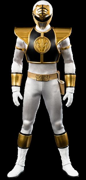 White Ranger Sixth Scale Figure