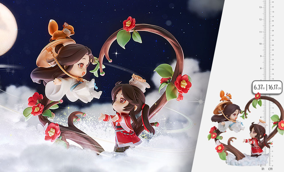 Gallery Feature Image of Chibi Xie Lian & San Lang (Until I Reach Your Heart Version) Collectible Figure - Click to open image gallery