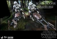 Gallery Image of Scout Trooper™ and Speeder Bike™ Sixth Scale Figure Set