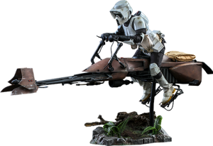 Scout Trooper™ and Speeder Bike™ Sixth Scale Figure Set
