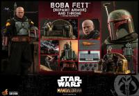 Gallery Image of Boba Fett (Repaint Armor) and Throne Sixth Scale Figure Set