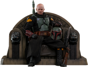 Boba Fett (Repaint Armor) and Throne Sixth Scale Figure Set
