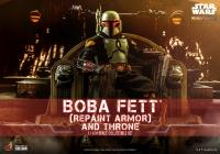 Gallery Image of Boba Fett (Repaint Armor - Special Edition) and Throne Sixth Scale Figure Set