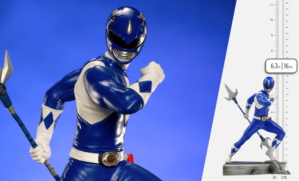 Gallery Feature Image of Blue Ranger 1:10 Scale Statue - Click to open image gallery