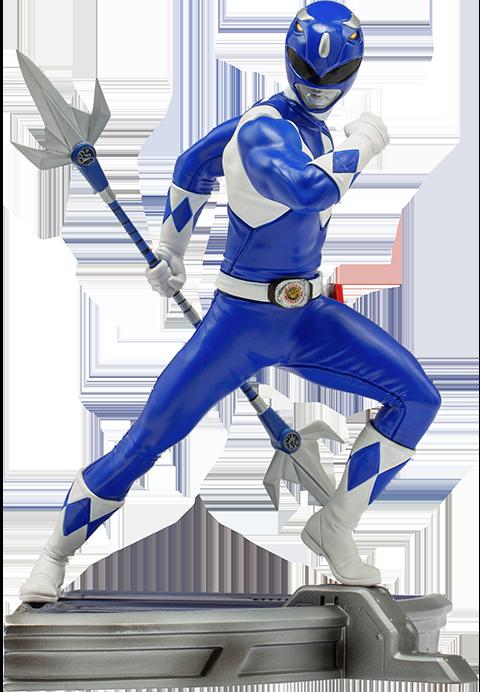Iron Studios Blue Ranger 1:10 Scale Statue