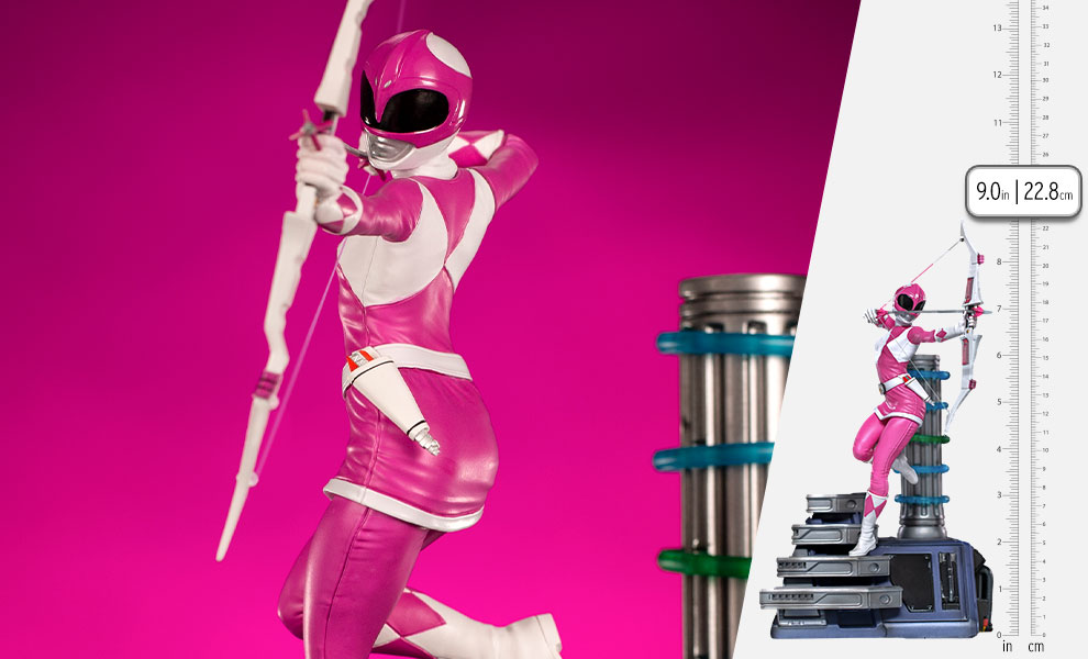 Gallery Feature Image of Pink Ranger 1:10 Scale Statue - Click to open image gallery