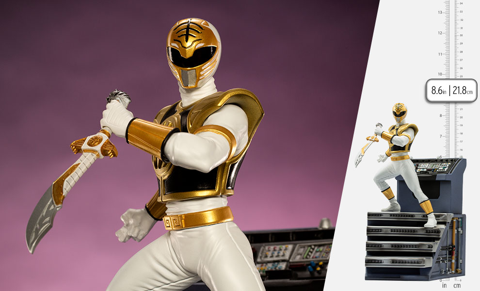 Gallery Feature Image of White Ranger 1:10 Scale Statue - Click to open image gallery