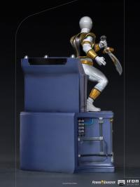 Gallery Image of White Ranger 1:10 Scale Statue
