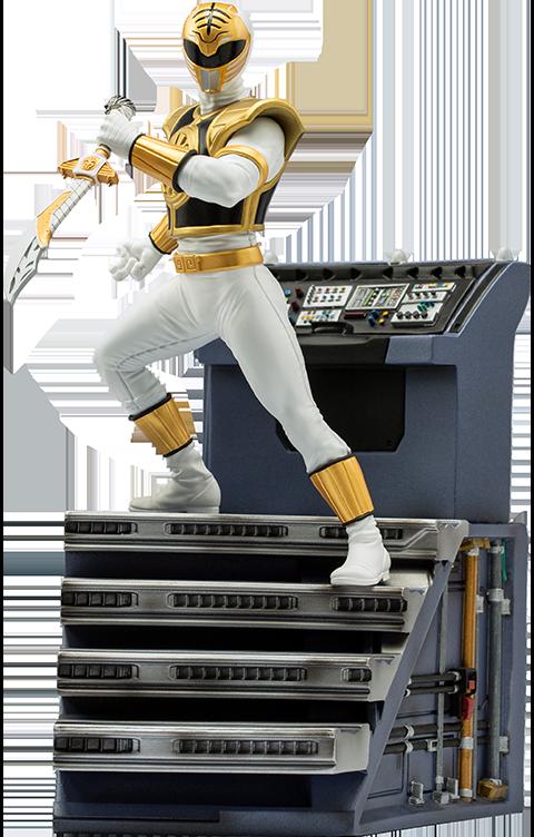 Iron Studios White Ranger 1:10 Scale Statue