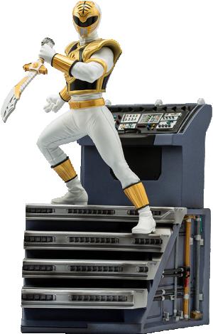White Ranger 1:10 Scale Statue
