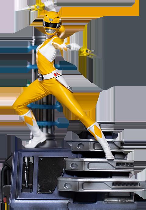 Iron Studios Yellow Ranger 1:10 Scale Statue