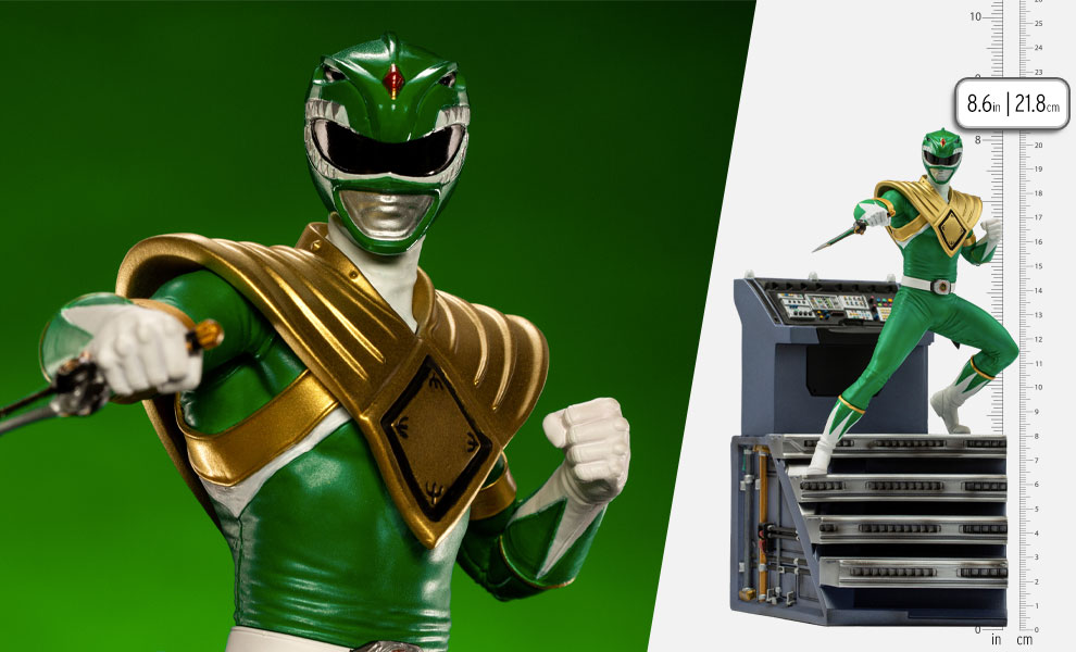 Gallery Feature Image of Green Ranger 1:10 Scale Statue - Click to open image gallery