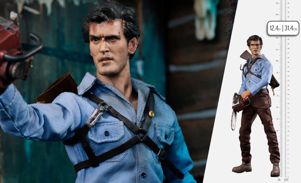 Gallery Feature Image of Ash Williams Sixth Scale Figure - Click to open image gallery