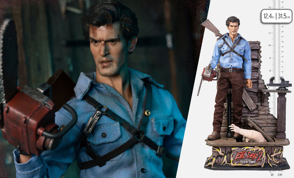 Gallery Feature Image of Ash Williams (Luxury Edition) Sixth Scale Figure - Click to open image gallery