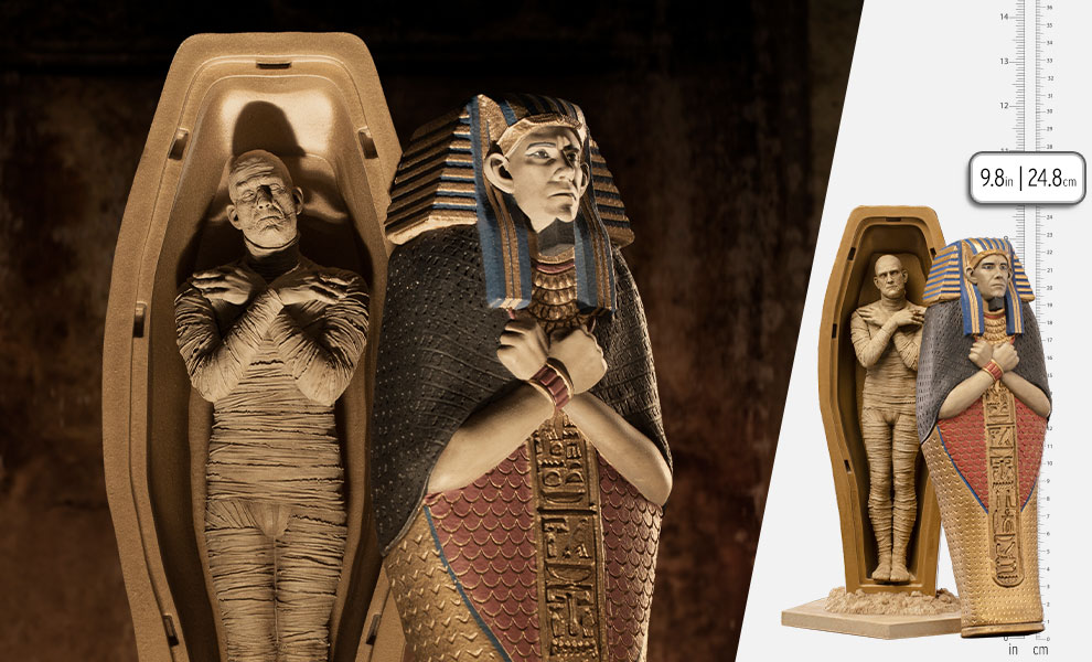 Gallery Feature Image of The Mummy 1:10 Scale Statue - Click to open image gallery