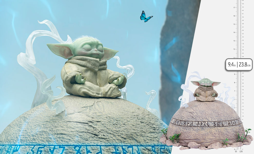 Gallery Feature Image of Grogu Statue - Click to open image gallery