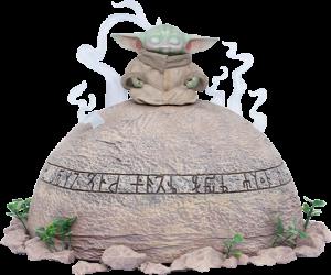 Grogu Statue