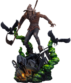 Scarecrow Maquette