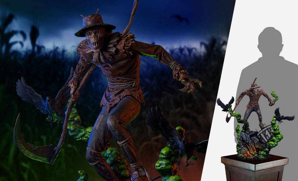 Gallery Feature Image of Scarecrow Maquette - Click to open image gallery
