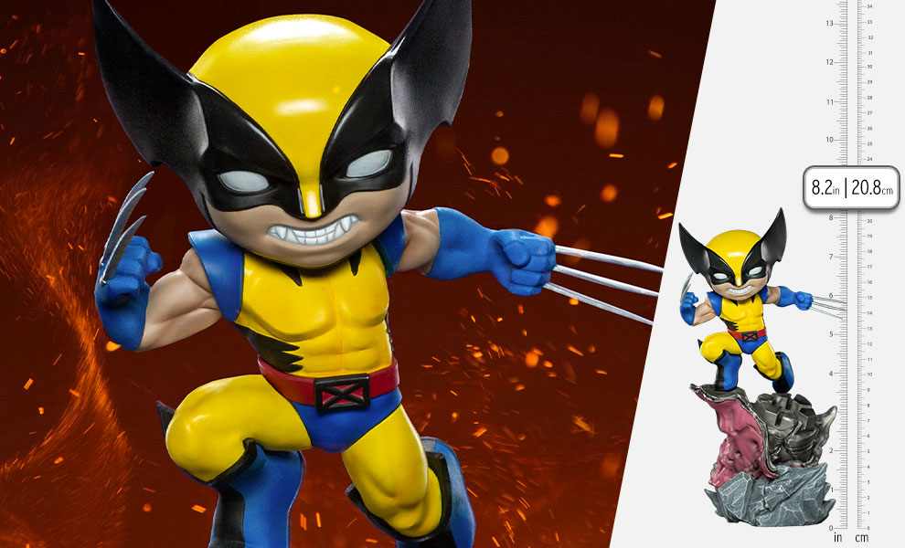 Gallery Feature Image of Wolverine – X-Men Mini Co. Collectible Figure - Click to open image gallery