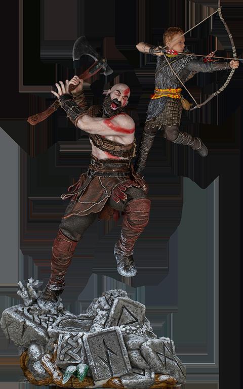 Iron Studios Kratos and Atreus 1:10 Scale Statue