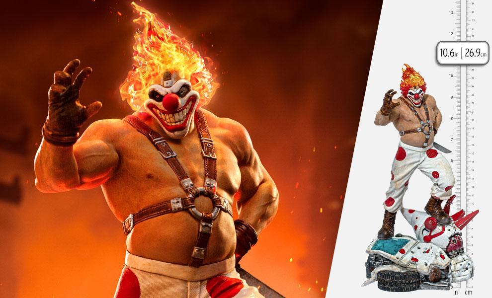 Twisted Metal - Sweet Tooth Needles Kane 1:10 Scale Statue by Iron Studios