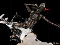 Gallery Image of IG-11 and The Child Deluxe 1:10 Scale Statue