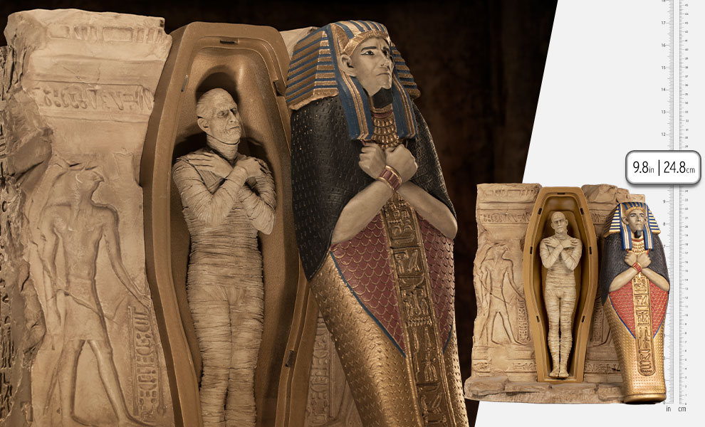 Gallery Feature Image of The Mummy Deluxe 1:10 Scale Statue - Click to open image gallery