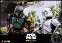 Gallery Image of Boba Fett (Repaint Armor) Sixth Scale Figure