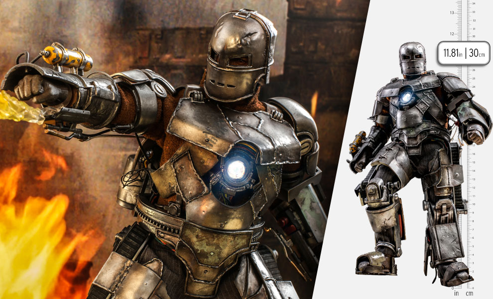 Gallery Feature Image of Iron Man Mark I (Special Edition) Sixth Scale Figure - Click to open image gallery