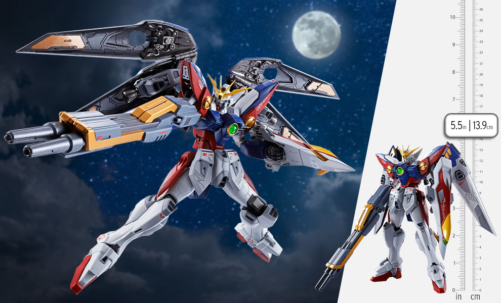 Gallery Feature Image of <SIDE MS> Wing Gundam Zero Collectible Figure - Click to open image gallery