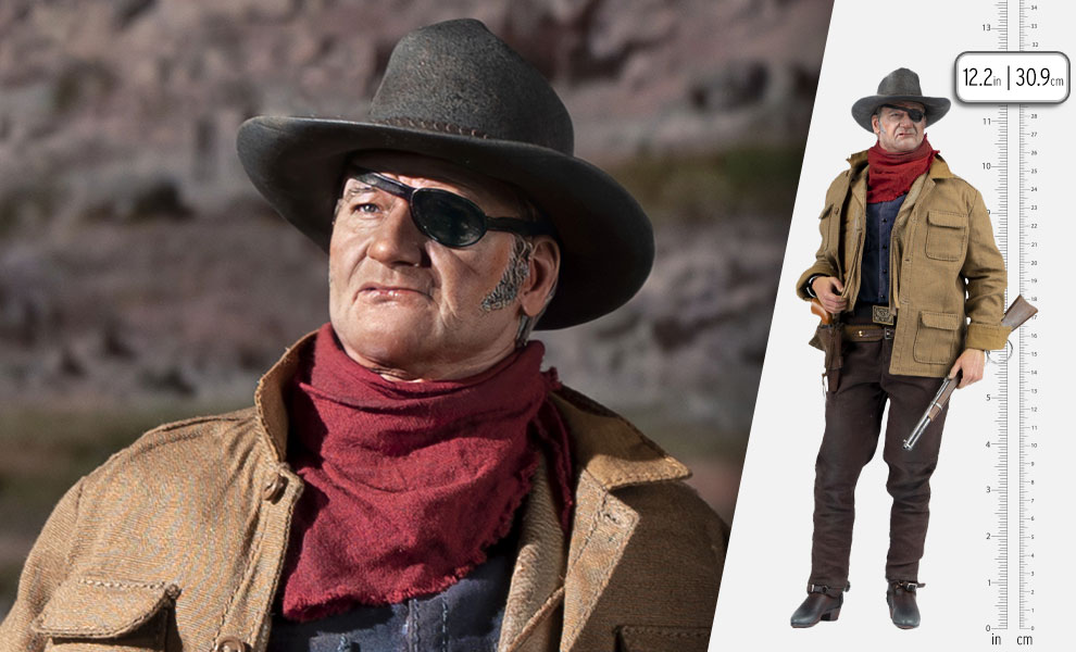 Gallery Feature Image of John Wayne Sixth Scale Figure - Click to open image gallery