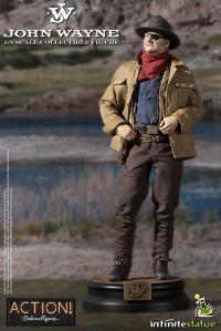 Gallery Image of John Wayne Sixth Scale Figure