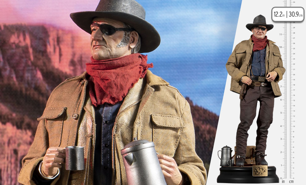 Gallery Feature Image of John Wayne Deluxe Sixth Scale Figure - Click to open image gallery