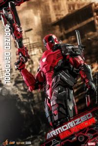 Gallery Image of Armorized Deadpool Sixth Scale Figure