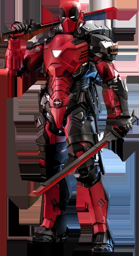 Hot Toys Armorized Deadpool Sixth Scale Figure