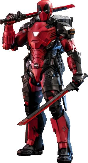 Armorized Deadpool Sixth Scale Figure