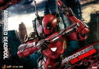 Gallery Image of Armorized Deadpool (Special Edition) Sixth Scale Figure