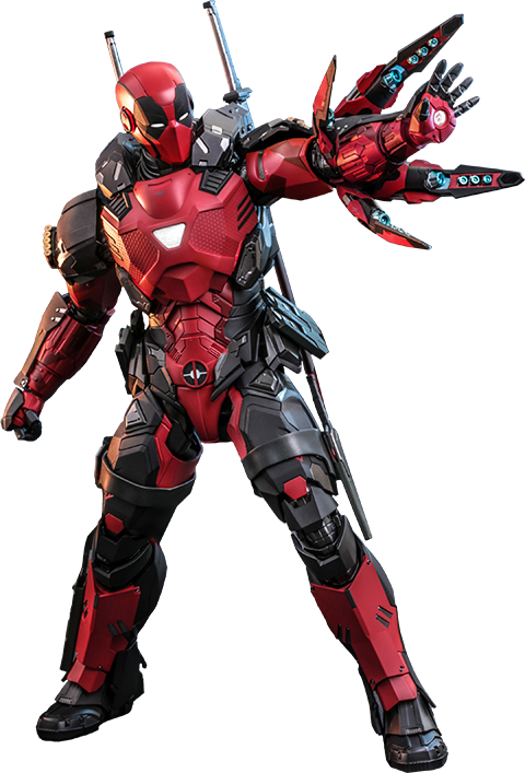 Hot Toys Armorized Deadpool (Special Edition) Sixth Scale Figure