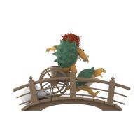 Gallery Image of Ukiyo-E Rickshaw Kart: Turtle Daimao Collectible Figure
