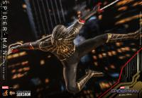 Gallery Image of Spider-Man (Black & Gold Suit) Sixth Scale Figure