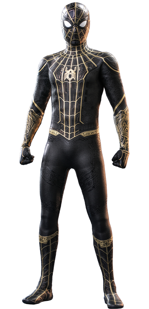 Hot Toys Spider-Man (Black & Gold Suit) Sixth Scale Figure