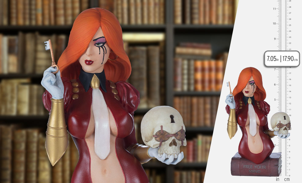 Gallery Feature Image of Dawn (Costume Variant) Bust - Click to open image gallery