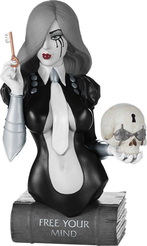 Dynamite Entertainment Dawn (Black and White) Bust