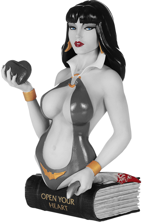 Dynamite Entertainment Vampirella (Black and White) Bust