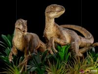 Gallery Image of Just The Two Raptors Deluxe 1:10 Scale Statue