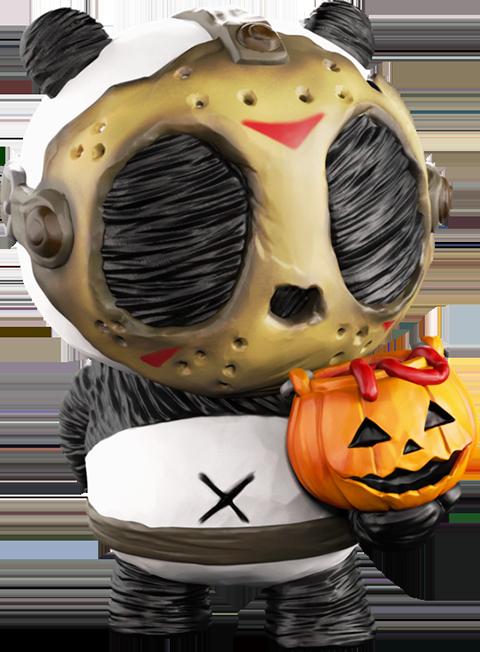 Mighty Jaxx Panda Ink: Trick Collectible Figure