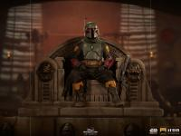 Gallery Image of Boba Fett on Throne Deluxe 1:10 Scale Statue